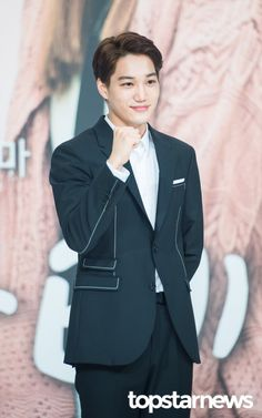 Kai - 170919 'Andante' press conference  Credit: TopStarNews. ('안단테' 제작발표회)