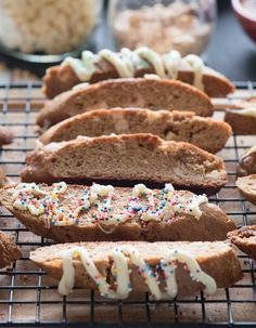 Gingerbread and White Chocolate Biscotti | Community Post: 15 Ginger Desserts To Make Just In Time For Christmas