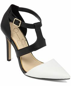 Jessica Simpson Campsonne T-Strap Pumps I Must have these shoes!!!!!