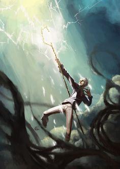 Jack Frost by JustaBlink Dreamworks Rise of the Guardians fan art