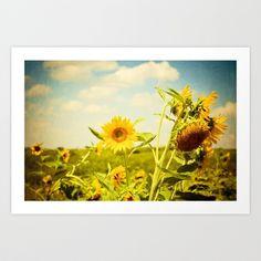 Yellow Art Print by Joy StClaire - $19.00