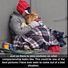 Homeless - Yes. Loveless - Never.