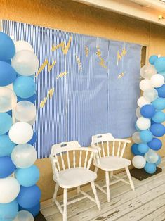 photo backdrop | Throw an unforgettable party with these fun Percy Jackson Party Ideas! Find great ideas for what food to serve, themed decorations and silly games and activities that any Rick Riordan fan will love.