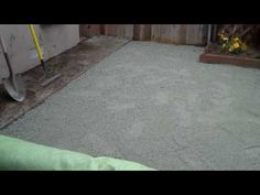 Synthetic grass easy install.
