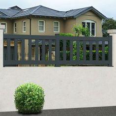 Aluminium fencing EMALU ATHENES Aluminium Fencing, Aluminum Fence, Gate Automation, Protecting Your Home, Access Control, Garden Fencing, Entrance Doors, Garden Fences, Entry Doors