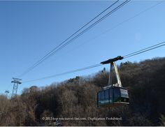 Magnificent Views of the Smokies on Ober Gatlinburg's Aerial Tramway