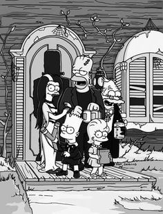 "gravesandghouls: "" The Simpsons - ""Treehouse of Horror XI"" """