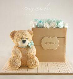 Teddy bear by Natalia Casaballe