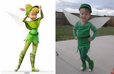 tinkerbell toddler costume ideas | Tinkerbell Costume