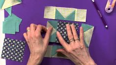 Startwith Squares and Rectangle pieces. This is one way to make what is called a flying geese unit by most quilters. In this video it's referred to as the star point units and is pieced together using the stitch and flip method. After it's stitched with 1/4 seam itsfirsted pressed and then trimmed. For beginners …