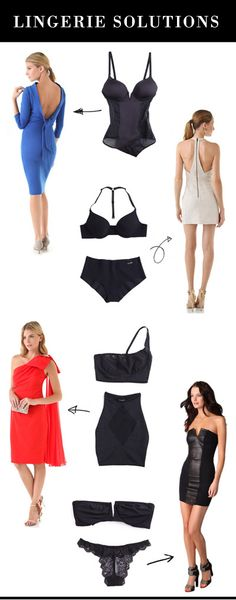 lingerie solutions #FASHIONINSTRUCTIONS