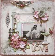 Love **SWIRLYDOO'S July Kit!!** - Scrapbook.com (Created by Gabriellep) Wendy Schultz onto Scrapbook Layouts.
