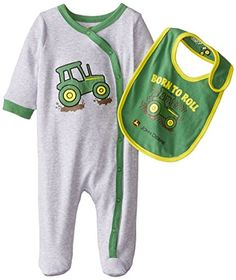 John Deere Baby-Boys Newborn Born To Roll Coverall Set, Heather Grey/Green, 0-3 Months John Deere http://www.amazon.com/dp/B00VYQ0J5K/ref=cm_sw_r_pi_dp_Sw15vb11MSMF6
