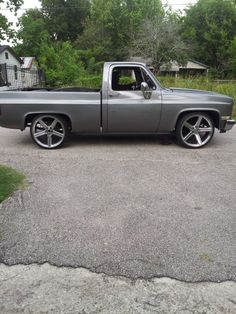 Used 1984 chevy c10 on 24