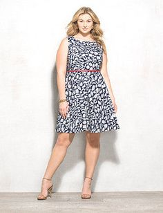 c8a7f1813bc db Signature™ Plus Size Darby Abstract Dress