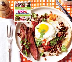 #Drop10 #Superfood #recipes: Steak and Eggs Ranchero