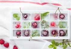 #Trucoscocina, Cómo hacer cubitos de hielo de sabores