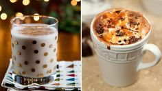 'Tis the season for a bit of liquid cheer! From boozy hot chocolate to a creamy peppermint punch, these six cool-weather cocktails are sure to warm you right up this winter.1. Salted caramel hot chocolate with tequila: Tequila is not just for summertime margaritas! A bit of sea salt complements the sweetness in this warm drink from Creative Culinary.2.