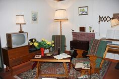 Interior of the sixties Good Old Times, The Good Old Days, Vintage Country, Retro Vintage, Nostalgia, Home History, Old Tv, Homemaking, Old Things
