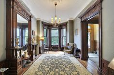 Prospect Park Place West Victorian interior woodwork design by techpro12, via Flickr