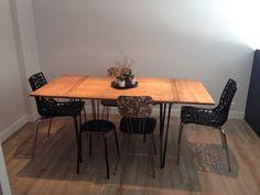 Ripaton fabrique des pieds en épingle design pour vos tables, consoles, meubles, bureaux. Hairpin legs made in France