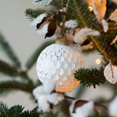 Honeycomb Globe Ornament