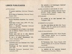 Nadaísmo70#1 Editorial, Personalized Items, Journals, Libros, The Prophet, Poems, Literatura