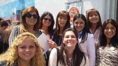Un grupo de chaqueñas participan del Primer Congreso Nacional del Pro, en Tres de Febrero, provincia de Buenos Aires. Tratan sobre la paridad de género, el cupo femenino en listas electorales, el rol y espacio de la mujer en general.