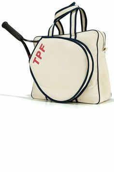 Tennis Bags From Parker Thatch At Horchow Where You Ll Find New Lower Shipping On Hundreds Of Home Furnishings And Gifts
