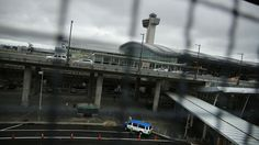 L'aéroport John F. Kennedy de New York (Etats-Unis), le 11 octobre 2014.   SPENCER PLATT / GETTY IMAGES NORTH AMERICA / AFP