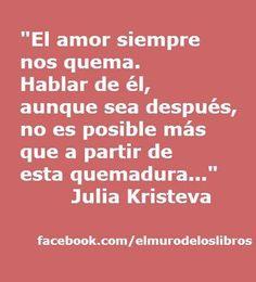 El amor siempre nos quema.....