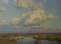 Artist: Scott L. Christensen - Title: June on the Marsh