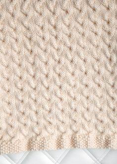 Free Baby Blanket Knitting Pattern 3