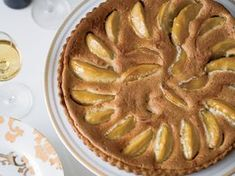 Granny Smith Apple and Brown Butter Custard Tart | Kate Neumann often showcases rich, nutty, fragrant browned butter in her desserts. Here, she adds it to a sweet custard loaded with caramelized apples and baked in a buttery tart shell.