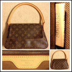 """LOUIS VUITTON MONOGRAM MINI LOOPING BAG NEW! Authentic Louis Vuitton Monogram Mini Looping bag with original dust bag!  Details: Front flap snap closure, 1 interior zipped pocket with golden brass hardware. L 11"""" x W 3.5"""" x H 7"""" Drop: 6.5"""" This popular model has been DISCONTINUED & is no longer in production! 🚨Also, selling the Kenneth Cole Reaction white Coat (separate listing). Louis Vuitton Bags"""