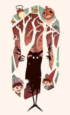 Orange Gold — youfoundjacob: Over The Garden Wall