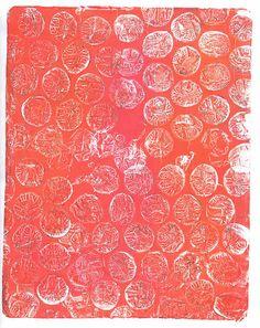 My gelli prints