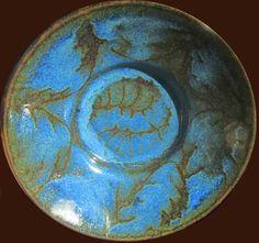 Wax resist cobalt over slip glaze, butter dish Ceramic Artists, Butter Dish, Cobalt, Stoneware, Glaze, Wax, Ceramics, Dishes, Drawings