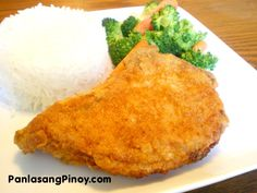 Breaded Pork Chop