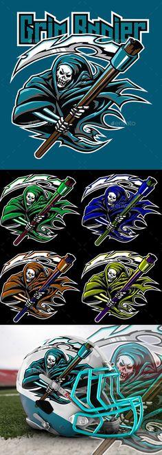 Grim Rapier Esport Logo Gaming template - Sports Logo Templates Get it now!! #logo #designlogo #logos #logodesign #logopremium #brand #branding #business #company #abstract #creative #mascot #designoflogo #thelogo #thedesign #logotemplate #print #logocompany #logoesport #logoanimal #logoabstract #envato #envatomarket #graphicriver #premiumdesign #creativemarket #freepik #shutterstock #behance #dribbble