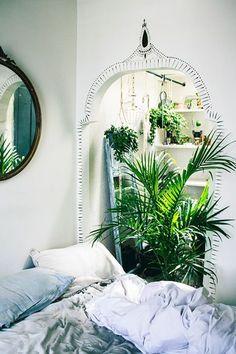 simple bohemian decor