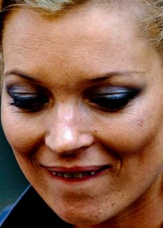 Kate Moss without professional make up or photoshop.