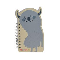 NEW * Monster notebook * www.the-pippa-and-ike-show.com