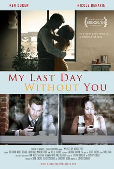 My Last Day Without You (2011) | Comedy, Drama, Romance | 4 October 2013 | On a one-day business trip to New York, a young German business executive falls in love with a singer-songwriter who exposes him to her Brooklyn world and emotions he's never experienced before.