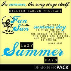 summer word art... William Carlos Williams, Summer Words, Word Art, Summer Days, Singing, Songs, Layouts, Scrapbooking, Scrapbooks