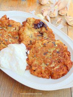 NESRiN`S KÜCHE: Patlıcan Mücveri / Auberginenpuffer