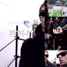 Gem Archer, Glastonbury 2013, Andy Bell, Beady Eye, Liam Gallagher, Wonderwall, Some Girls, Oasis, Fangirl
