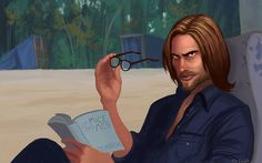 Sawyer from LOST, being interrupted from his book. Movies Showing, Movies And Tv Shows, Geeks, Lost Sawyer, Fantasy Tv Series, Lost Tv Show, Josh Holloway, Wizards Of Waverly Place, In Another Life