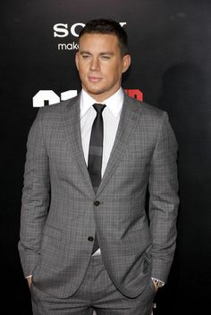 Channing Tatum...He has a nice suit