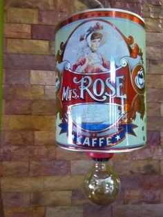 espresso tin box upcycled